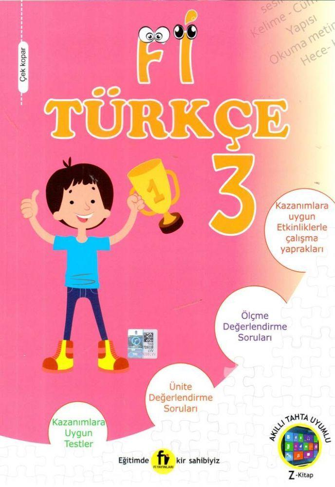 Fi Yayınları 3. Sınıf Türkçe Soru Bankası