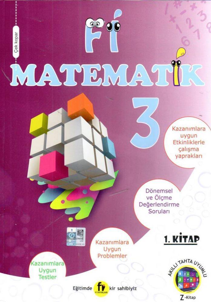 Fi Yayınları 3. Sınıf Matematik Soru Bankası 1. Kitap