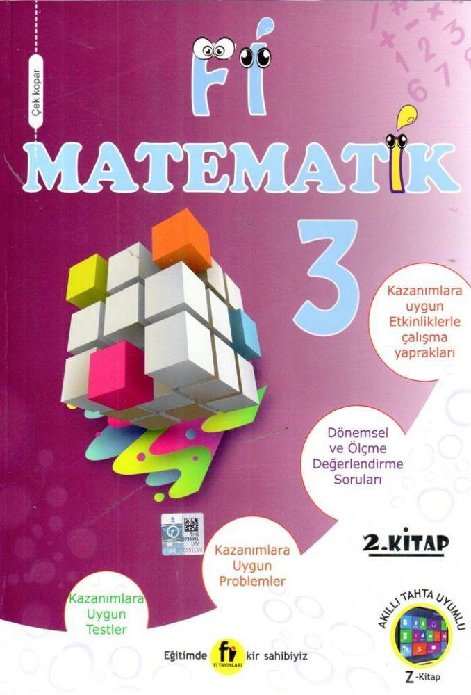 Fi Yayınları 3. Sınıf Matematik Soru Bankası 2. Kitap