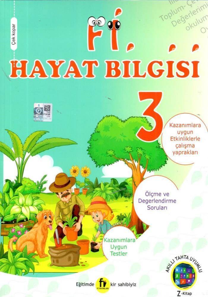 Fi Yayınları 3. Sınıf Hayat Bilgisi Soru Bankası