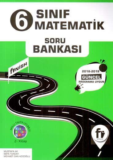 Fi Yayınları 6. Sınıf Matematik Soru Bankası