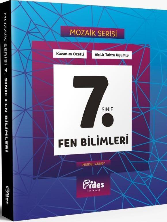 Fides Yayınları 7. Sınıf Fen Bilimleri Mozaik Serisi Kazanım Özetli Soru Bankası