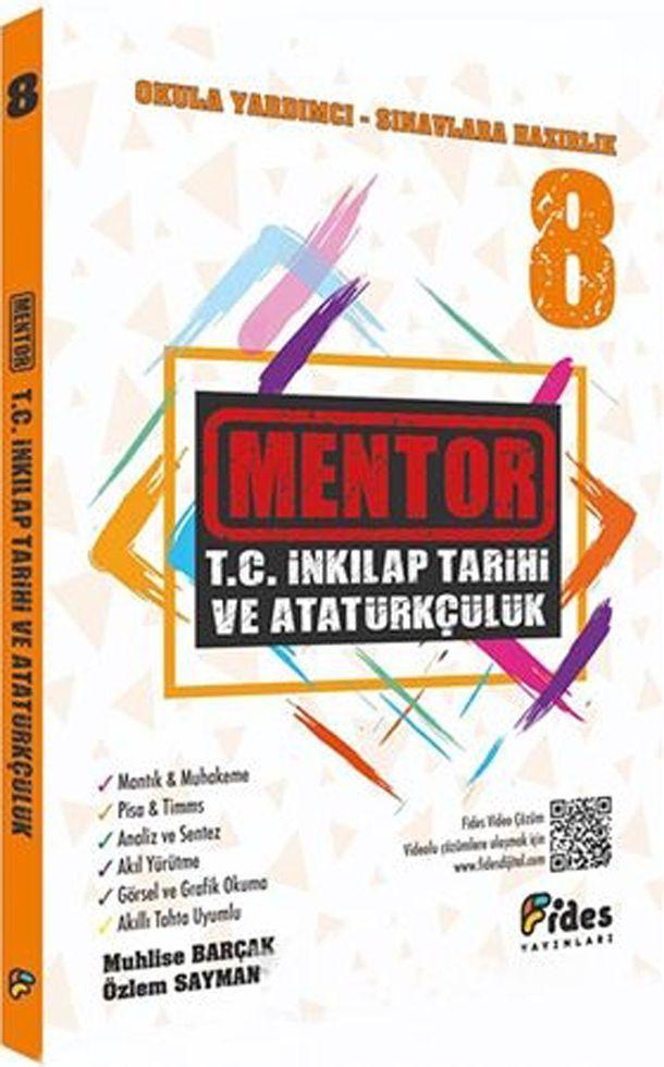 Fides Yayınları 8. Sınıf T.C. İnkılap Tarihi ve Atatürkçülük Mentor