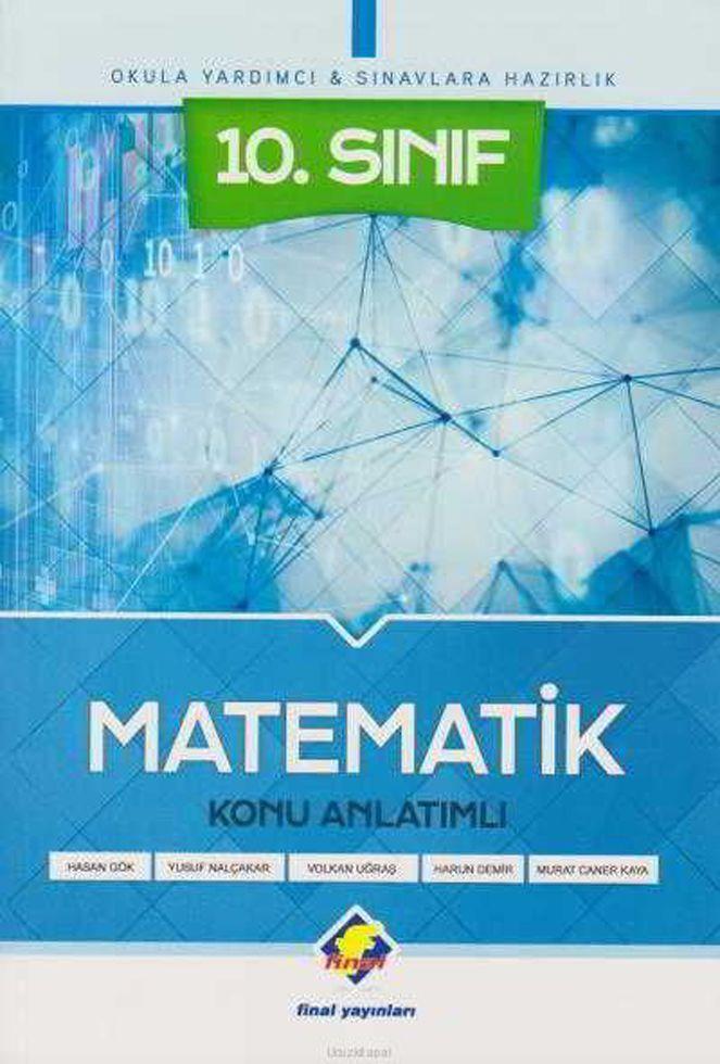 Final Yayınları 10. Sınıf Matematik Konu Anlatımlı