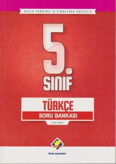 Final Yayınları 5. Sınıf Türkçe Soru Bankası