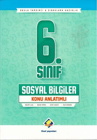 Final Yayınları 6. Sınıf Sosyal Bilgiler Konu Anlatımlı