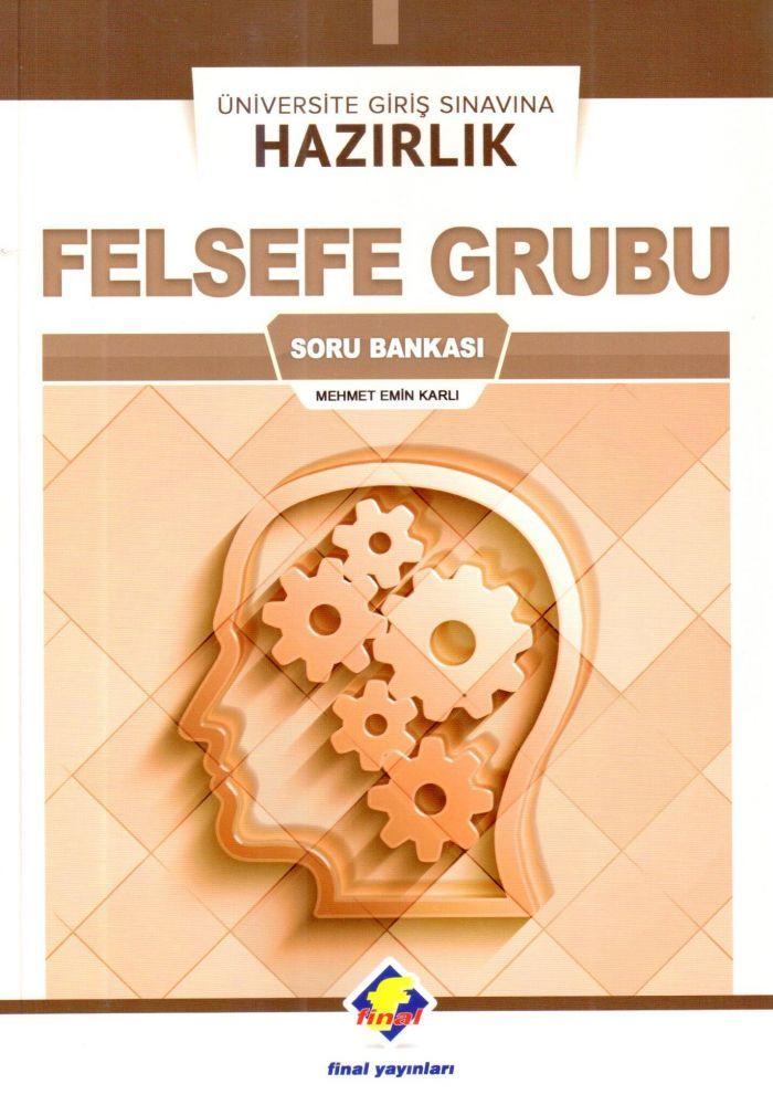 Final Yayınları Üniversite Giriş Sınavına Hazırlık Felsefe Grubu Soru Bankası