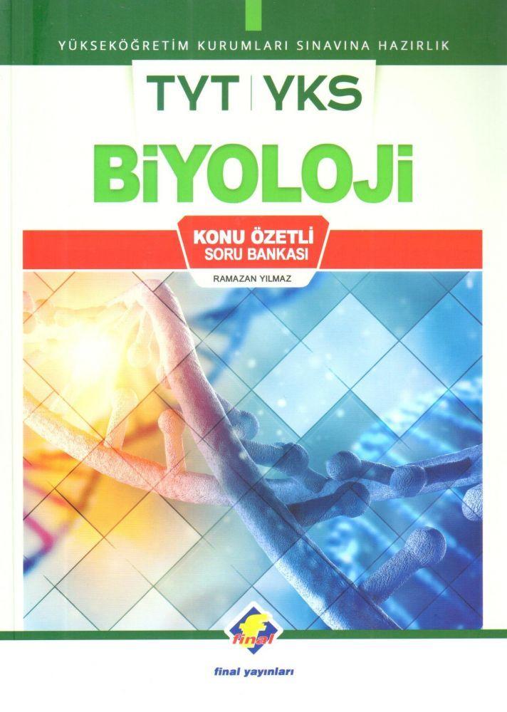 Final Yayınları TYT Biyoloji Konu Özetli Soru Bankası