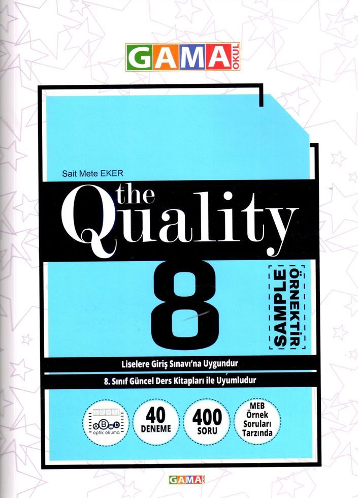Gama Yayınları 8. Sınıf The Quality