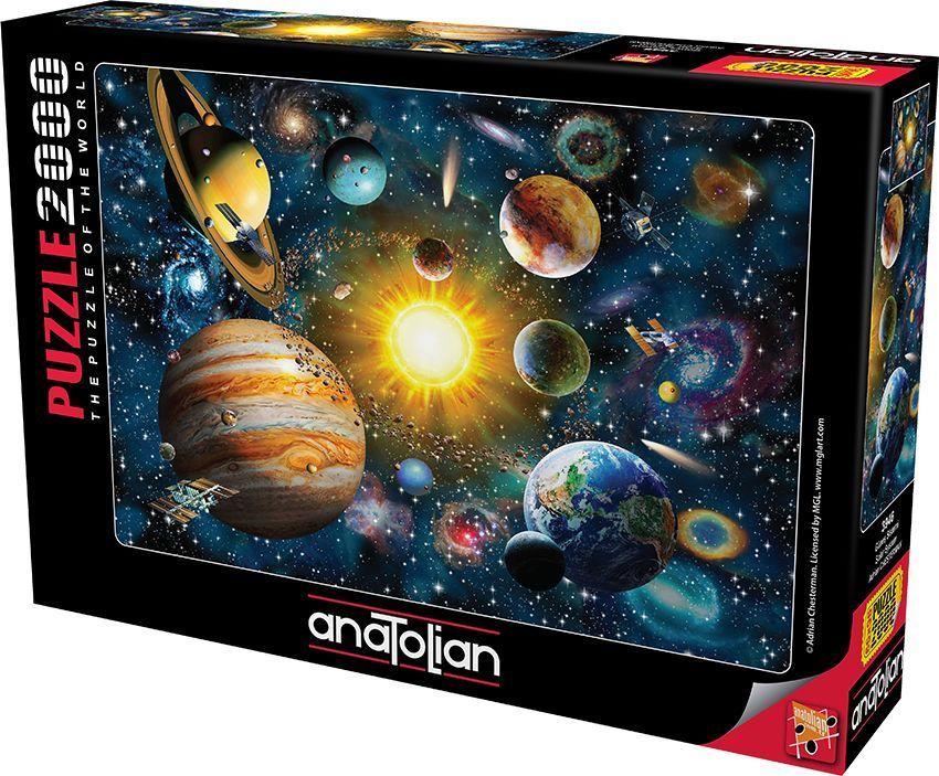 Güneş Sistemi  Solar System  2000 Parça Puzzle - Yapboz