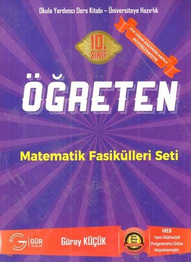 Gür Yayınları 10. Sınıf Öğreten Matematik Fasikülleri Seti