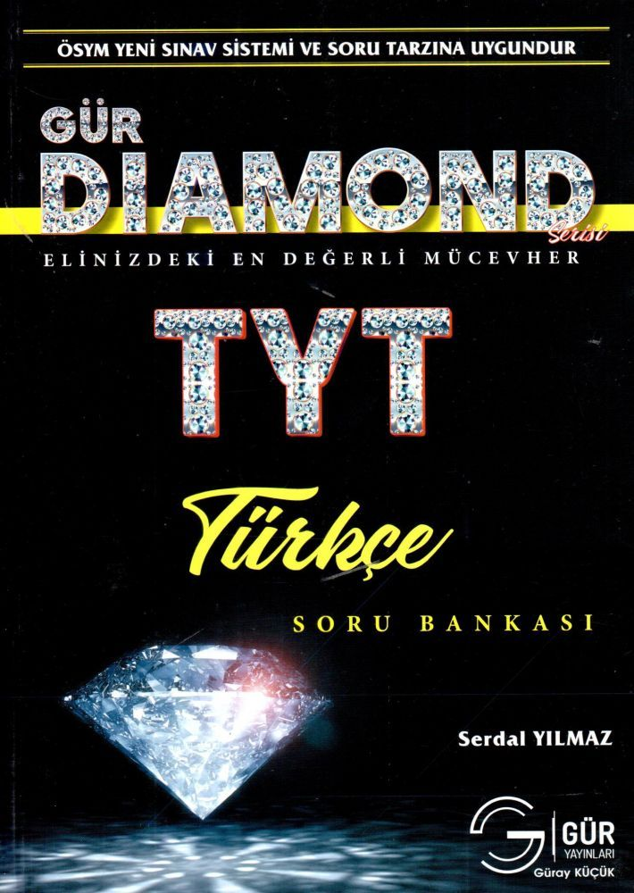 Gür Yayınları TYT Türkçe DIAMOND Soru Bankası