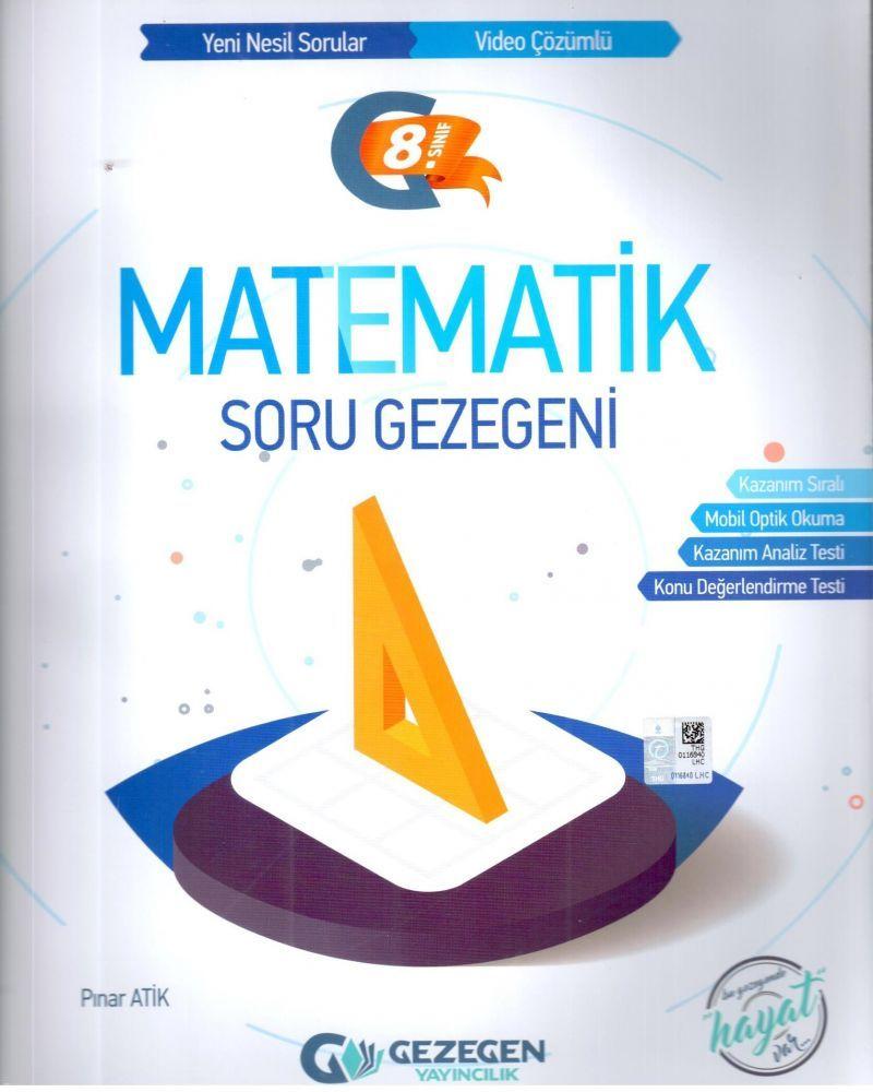 Gezegen Yayınları 8. Sınıf Matematik Soru Gezegeni