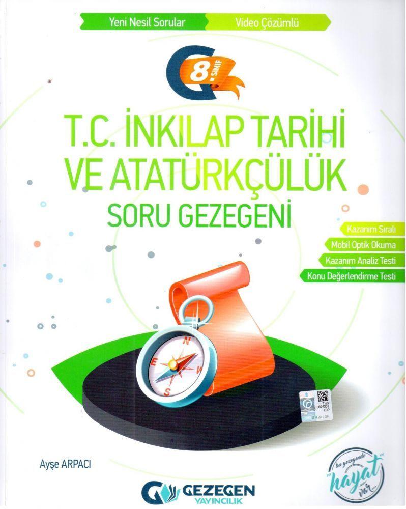 Gezegen Yayınları 8. Sınıf T.C. İnkılap Tarihi ve Atatürkçülük Soru Gezegeni