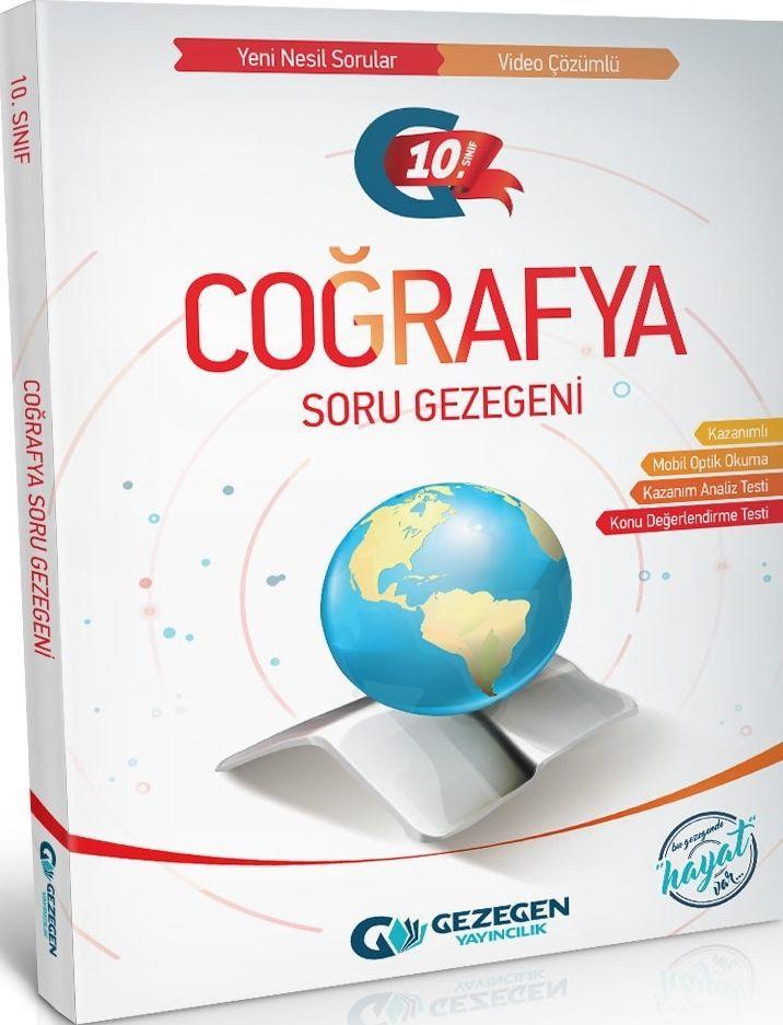 Gezegen Yayınları 10. Sınıf Coğrafya Soru Gezegeni