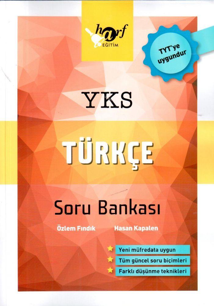 Harf Yayınları TYT Türkçe Soru Bankası
