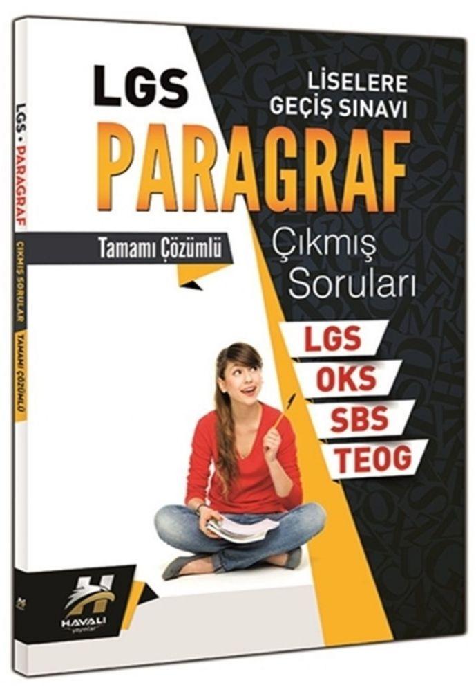 Havalı Yayınları LGS Paragraf Tamamı Çözümlü Çıkmış Soruları