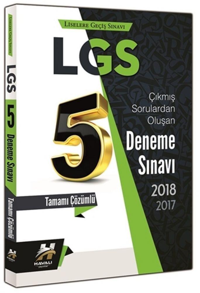 Havalı Yayınları LGS Çıkmış Sorulardan Oluşan 5 Deneme Sınavı