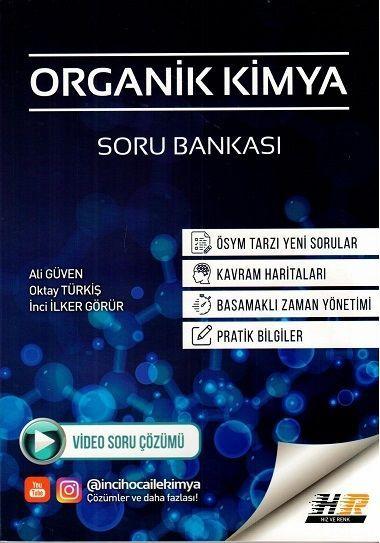 Hız ve Renk Yayınları AYT Organik Kimya Soru Bankası