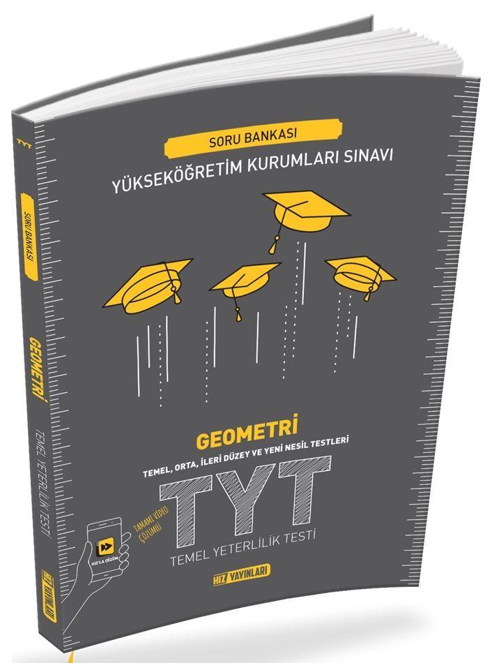 Hız Yayınları TYT Geometri Soru Bankası