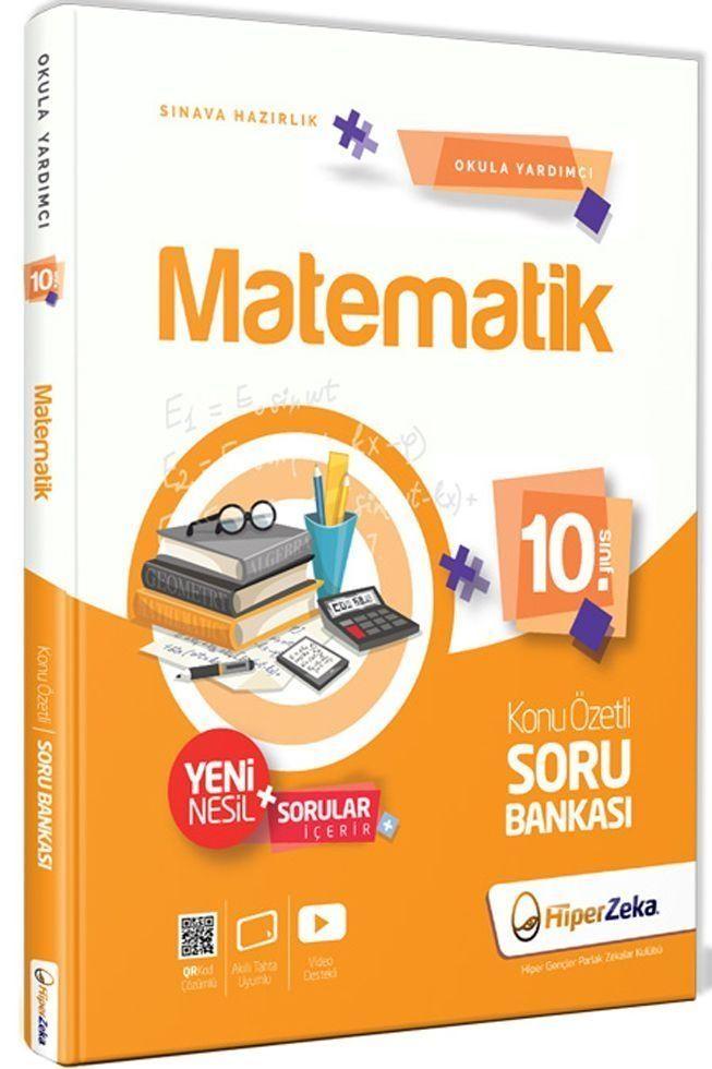 Hiper Zeka Yayınları 10. Sınıf Matematik Konu Özetli Soru Bankası