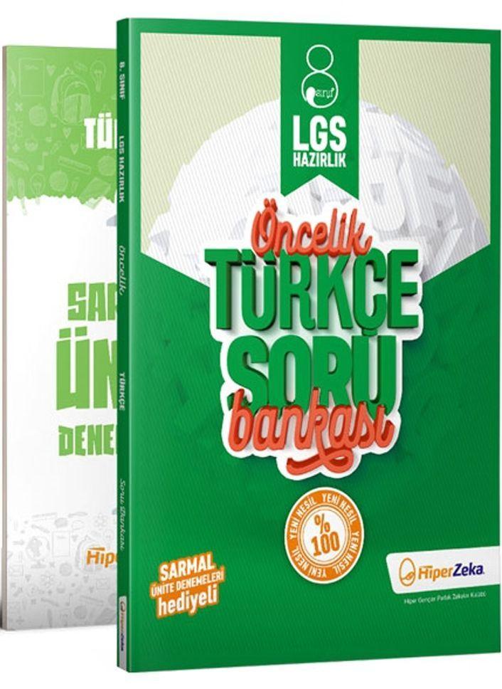 Hiper Zeka Yayınları 8. Sınıf LGS Türkçe Öncelik Soru Bankası