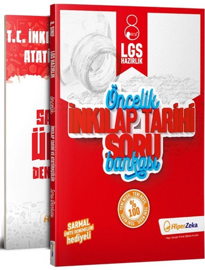 Hiper Zeka Yayınları 8. Sınıf LGS İnkılap Tarihi Öncelik Soru Bankası