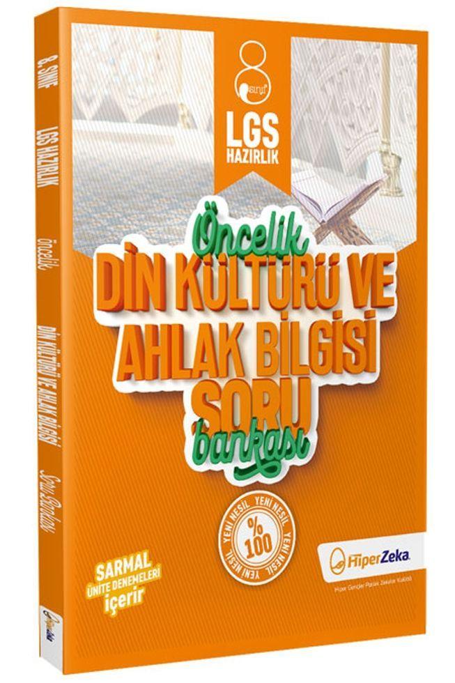 Hiper Zeka Yayınları 8. Sınıf LGS Din Kültürü ve Ahlak Bilgisi Öncelik Soru Bankası