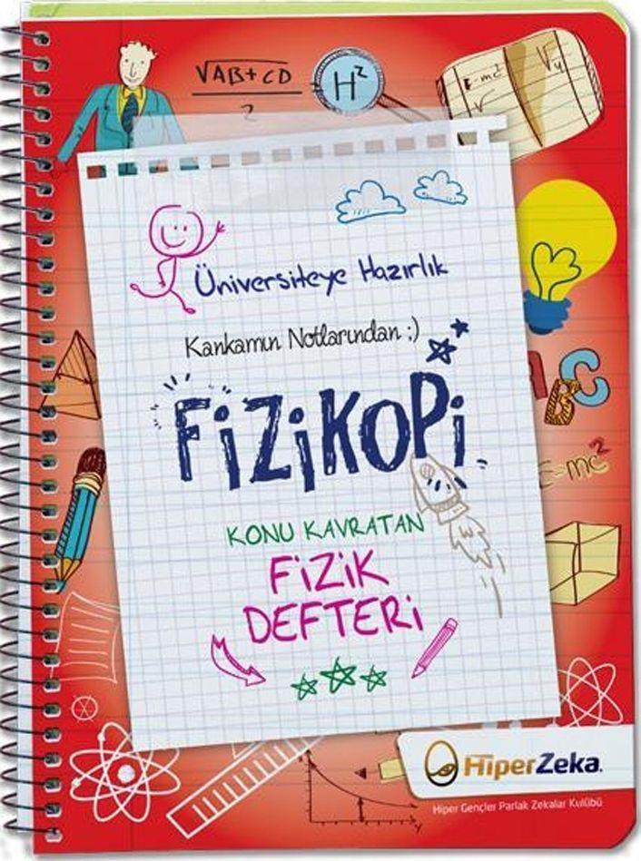 Hiper Zeka Yayınları Kankamın Notlarından Fizikopi Konu Kavratan Fizik Defteri 2