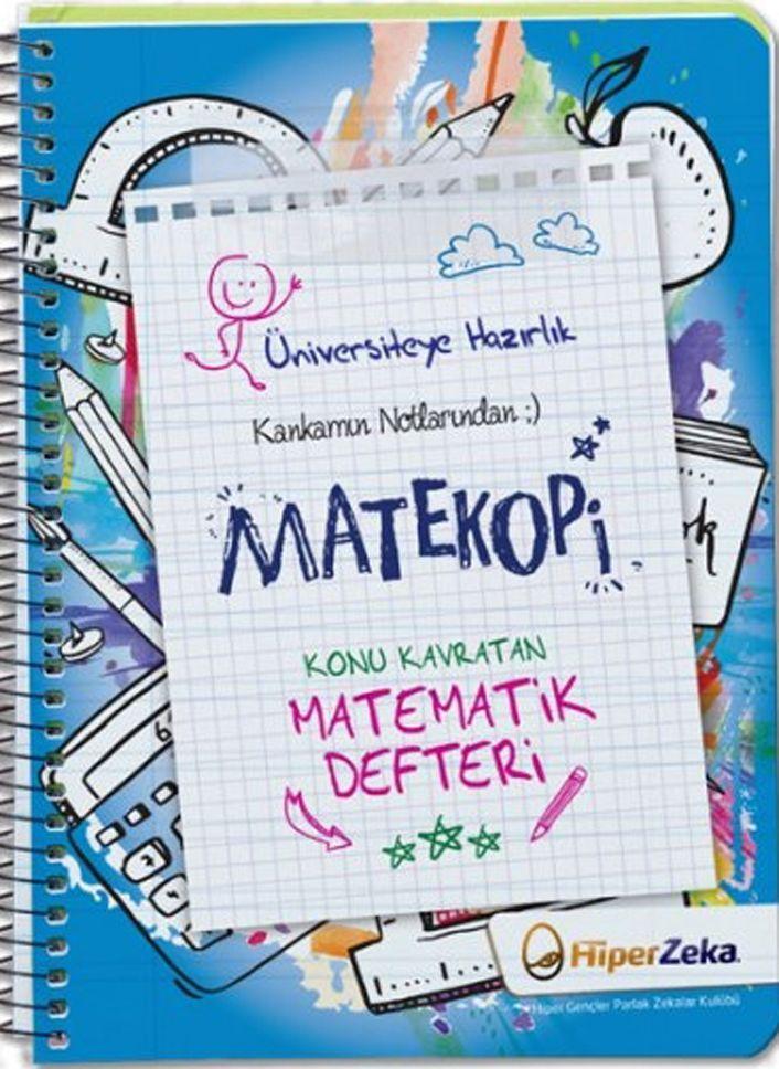 Hiper Zeka Yayınları Kankamın Notlarından Matekopi Konu Kavratan Matematik Defteri