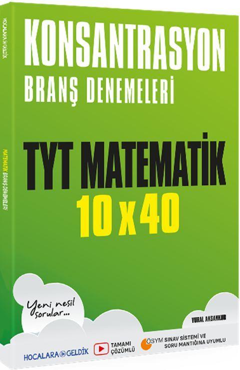 Hocalara Geldik TYT MatematikKonsantrasyon Branş Denemeleri