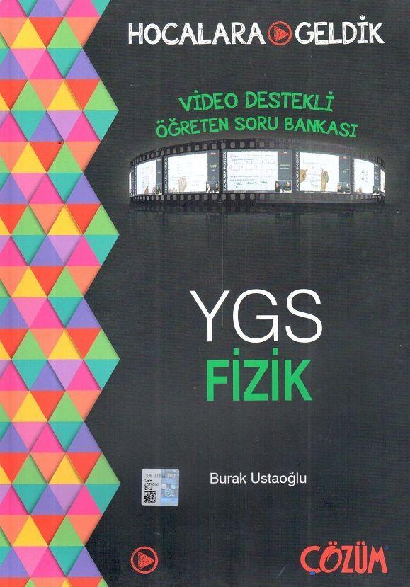Hocalara Geldik YGS Fizik Video Destekli Öğreten Soru Bankası