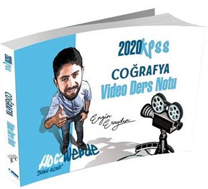 HocaWebde Yayınları 2020 KPSS Coğrafya Video Ders Notu