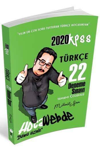 Hocawebde Yayınları 2020 KPSS Türkçe Tamamı Çözümlü 22 Deneme