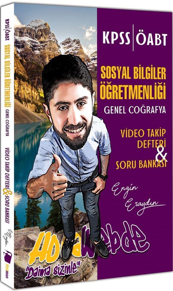 Hocawebde Yayınları KPSS ÖABT Sosyal Bilgiler Öğretmenliği Genel Coğrafya Soru Bankası