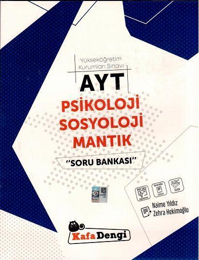 Kafa Dengi Yayınları AYT Psikoloji Sosyoloji Mantık Soru Bankası