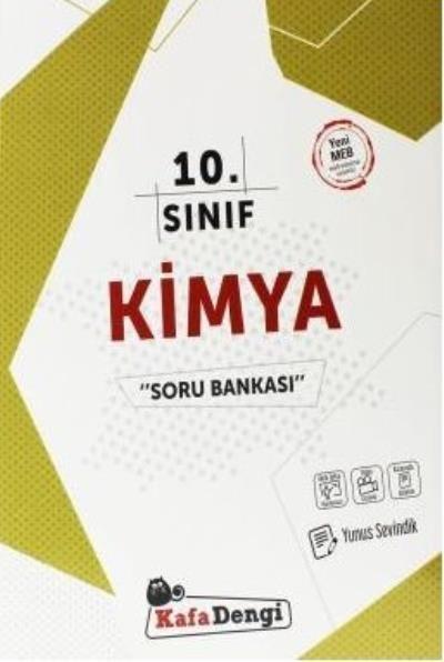 Kafa Dengi Yayınları 10. Sınıf Kimya Soru Bankası