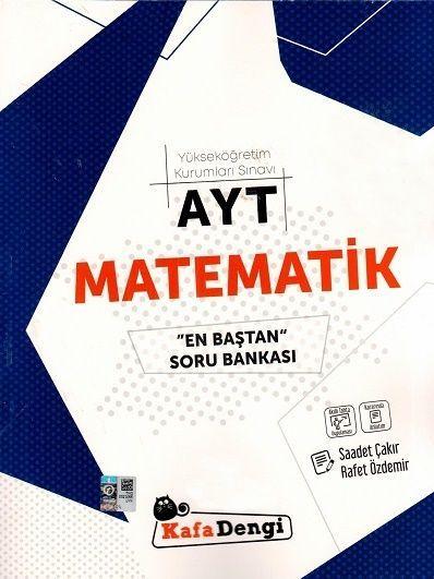 Kafa Dengi Yayınları AYT Matematik En Baştan Soru Bankası