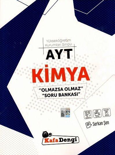Kafa Dengi Yayınları AYT Kimya Olmazsa Olmaz Soru Bankası