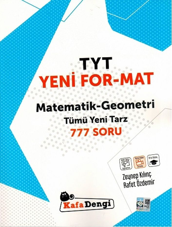 Kafa Dengi Yayınları TYT Matematik Geometri Yeni Format Soru Bankası