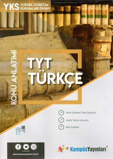 Kampüs Yayınları TYT Türkçe Konu Anlatım