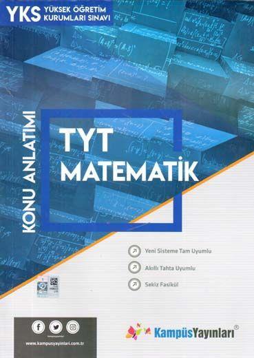 Kampüs Yayınları TYT Matematik Konu Anlatım