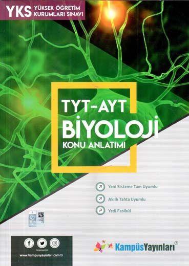 Kampüs Yayınları TYT AYT Biyoloji Konu Anlatım