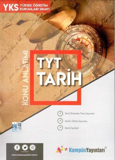 Kampüs Yayınları TYT Tarih Konu Anlatım