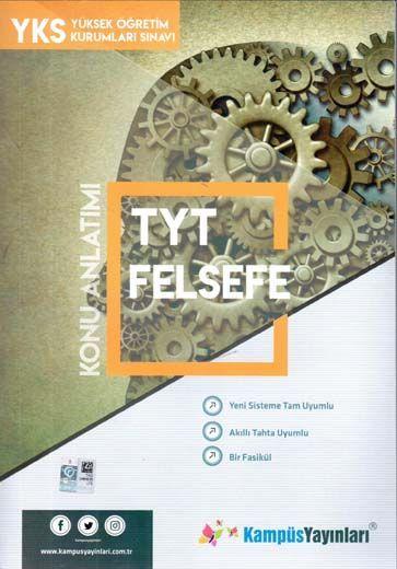 Kampüs Yayınları TYT Felsefe Konu Anlatım