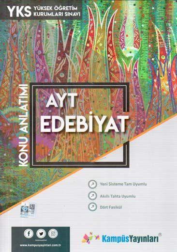 Kampüs Yayınları AYT Edebiyat Konu Anlatım
