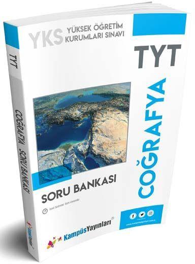 Kampüs Yayınları TYT Coğrafya Soru Bankası