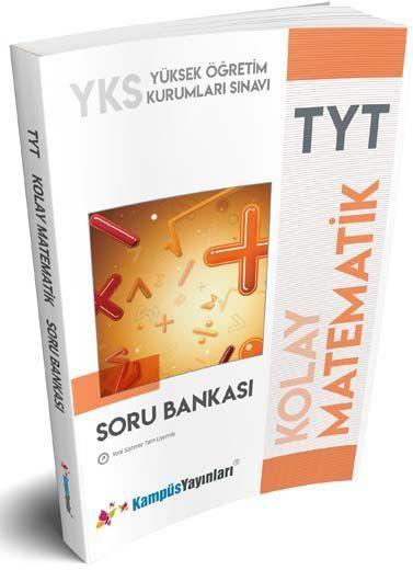 Kampüs Yayınları TYT Kolay Matematik Soru Bankası