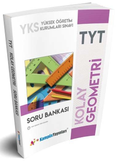 Kampüs Yayınları TYT Kolay Geometri Soru Bankası