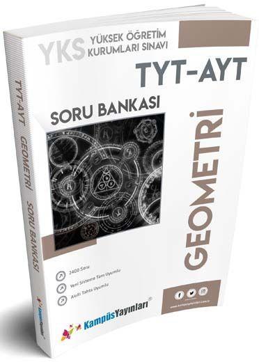 Kampüs Yayınları TYT AYT Geometri Soru Bankası
